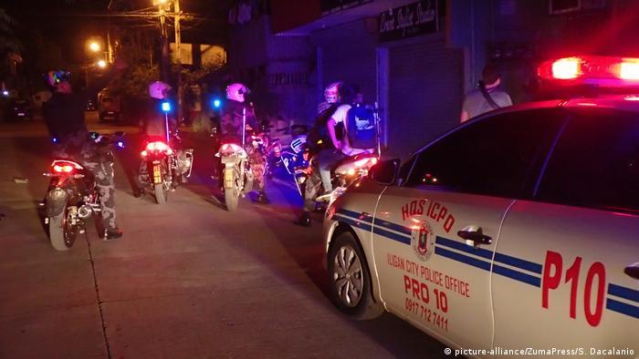 Philippinen Polizeirazzia