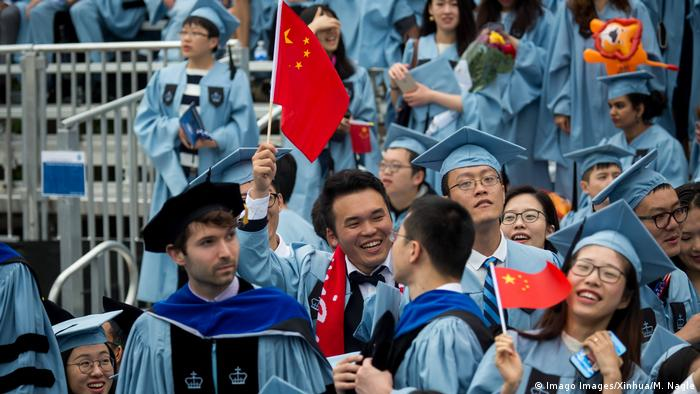 USA Chinesische Studenten in New York