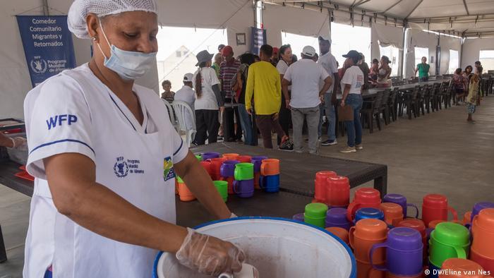 Kolumbien Maicao Hilfe für Flüchtlinge aus Venezuela