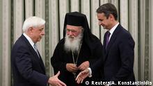Griechenland Vereidigung von Kyriakos Mitsotakis
