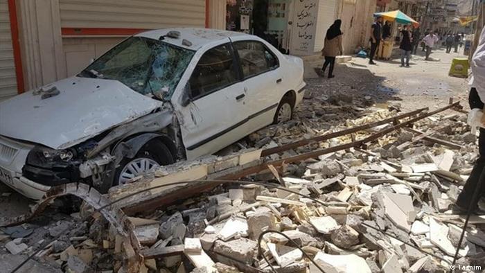 Iran Erdbeben in Khozestan