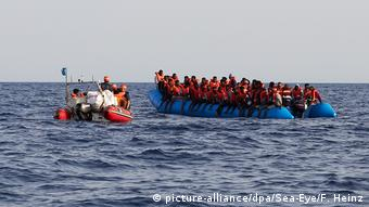 Επιχείρηση διάσωσης μεταναστών