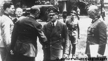 Deutschland Wolfsschanze 1944 Stauffenberg und Hitler