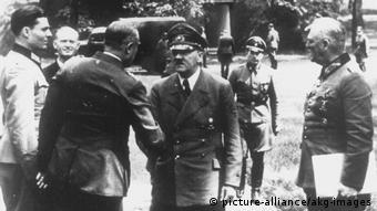 Συνάντηση με τον Χίτλερ λίγες μέρες πριν την απόπειρα δολοφονίας, 15 Ιουλίου 1944