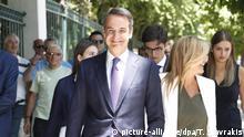 Parlamentswahl in Griechenland 2019 Kyriakos Mitsotakis