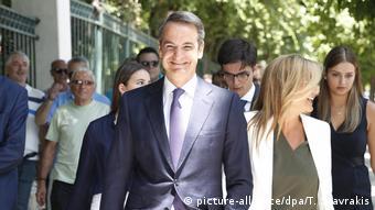 Kyriakos Mitsotakis a promis de faire baisser les impôts pour les classes moyennes.