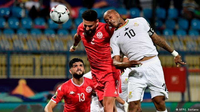 Africa Cup Tunesien vs Ghana Andre Ayew