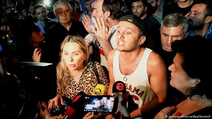 ГРУЗИЯ: Оскорбивший Путина грузинский телеведущий Габуния отстранен от эфира на 2 месяца