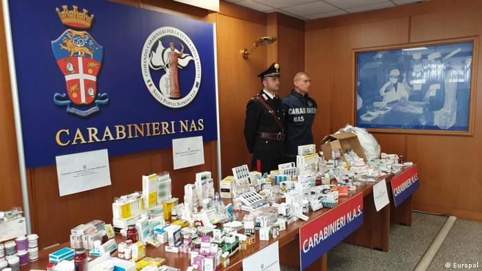 Europol Internationale Razzia Doping Medikamentenfälschungen