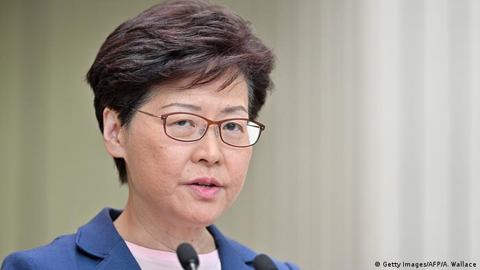 Kiongozi wa Hong Kong Carrie Lam