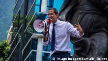 July 6, 2019 - Caracas, Venezuela - Venezuela s opposition leader Juan Guaido speaks by the statue of Venezuelan procer Francisco de Miranda during a march against the government in Caracas on July 5, 2019, during the anniversary of the Venezuelan Independence. Caracas Venezuela PUBLICATIONxINxGERxSUIxAUTxONLY - ZUMAn230 20190706_zaa_n230_104 Copyright: xRafaelxBriceo±OxSierraltax