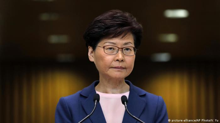 Hongkong PK Carrie Lam (picture-alliance/AP Photo/V. Yu)