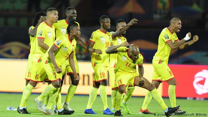 Fußball Afrika Cup Marokko - Benin