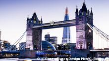 Aussichtsplattformen dieser Welt Tower Bridge London England