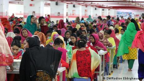 Bangladesch Textilfabrik von Hop Lun in Gazipur (DW/Rodion Ebbighausen)