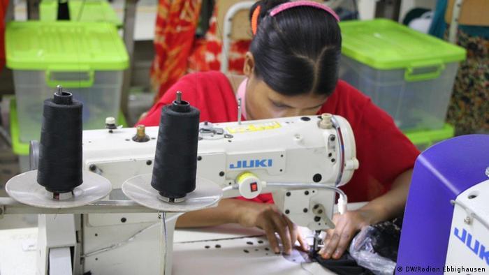 Bangladesch Textilfabrik von Hop Lun in Gazipur