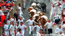 Spanien San Fermin Festival in Pamplona