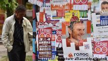 Ukraine Wahlkampf für Parlamentswahlen
