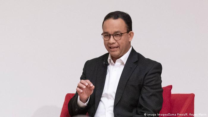 Gubernur DKI Jakarta - Anies Baswedan (Imago Images/Zuma Press/R. Reyes Marin)