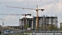 Türkei Baustelle in Ankara