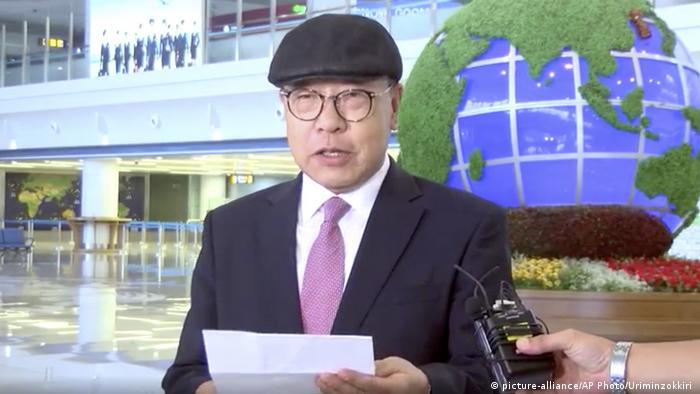 Sul-coreano Choe In Guk, que desertou para a Coreia do Norte