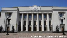 Ukraine Parlament Werchowna Rada (picture-alliance/Prisma Archivo)