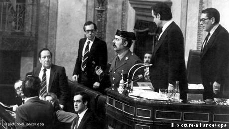 ১৯৮১: স্পেনে অভ্যুত্থানের চেষ্টা