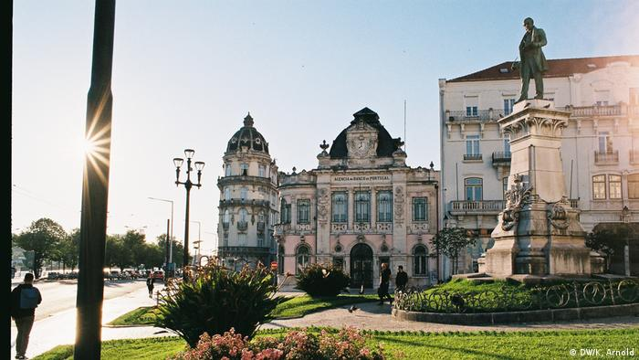 Portugal Coimbra - Sehenswürdigkeiten auf dem ersten Blick am Largo da Portagem