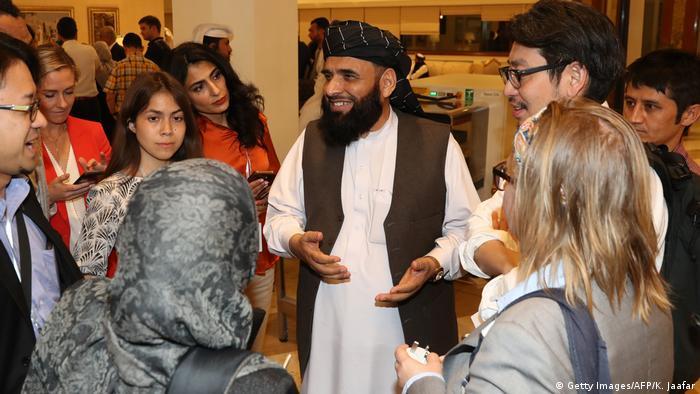 The Taliban delegation in Qatar