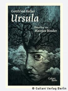 Buchcover Gottfried Keller Ursula mit Illustrationen von Hannes Binder