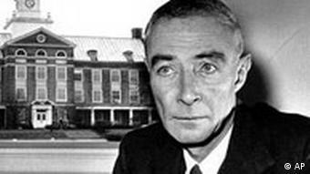 Atomwissenschaftler Robert Oppenheimer