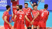 Iran Volleyball Nationalmannschaft (sobhe-emrooz.ir)
