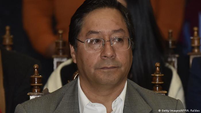 Luis Alberto Arce Catacora Wirtschaftsminister in Bolivien