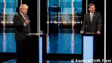 Großbritannien TV Debatte der Konservativen | Boris Johnson und Jeremy Hunt