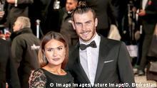 Gareth Bale und Emma Rhys-Jones