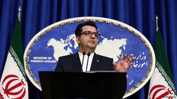 Abbas Moussawi, Sprecher des iranischen Außenministeriums (Mojnews)