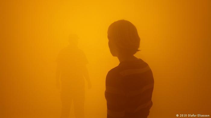 Solo-Ausstellung des isländischen Künstlers Olafur Eliasson In reals life - Din blinde passager