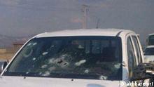 Iran Kurdistan | Einschusslöcher nach Schießerei
