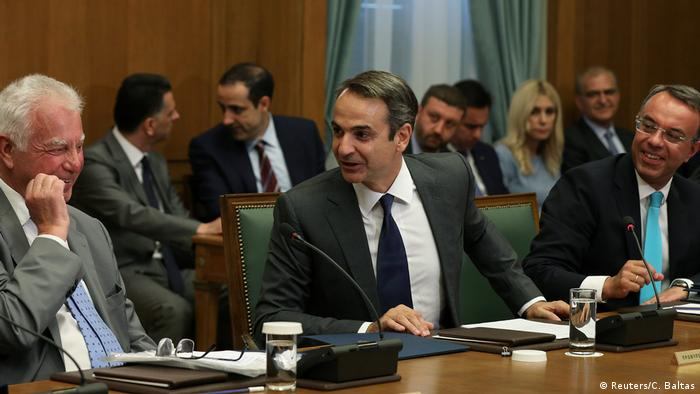 Griechenland | Erste Sitzung Kabinett Mitsotakis (Reuters/C. Baltas)