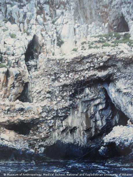 Höhlen von Apidima, Griechenland