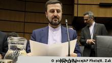 Österreich Wien | Internationale Atomenergie-Organisation - Irans Botschafter Gharib Abadi