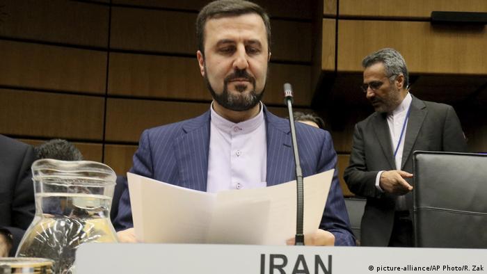 Österreich Wien   Internationale Atomenergie-Organisation - Irans Botschafter Gharib Abadi