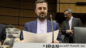 کاظم غریب آبادی، سفیر و نماینده ایران در آژانس بینالمللی انرژی اتمی