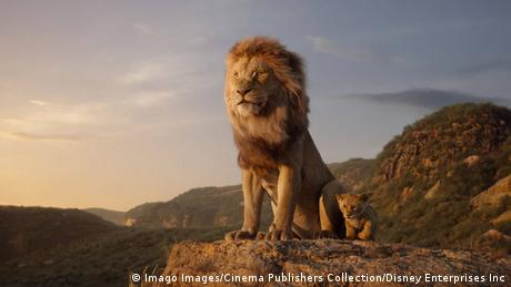 flm still The Lion King male lion stands on a rock (Imago Images/Cinema Publishers Collection/Disney Enterprises Inc)