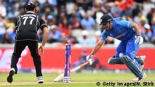 ICC Cricket World Cup 2019 Halbfinale Indien vs. Neuseeland