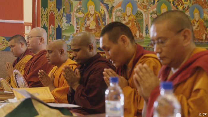 Монаси в Калмикия