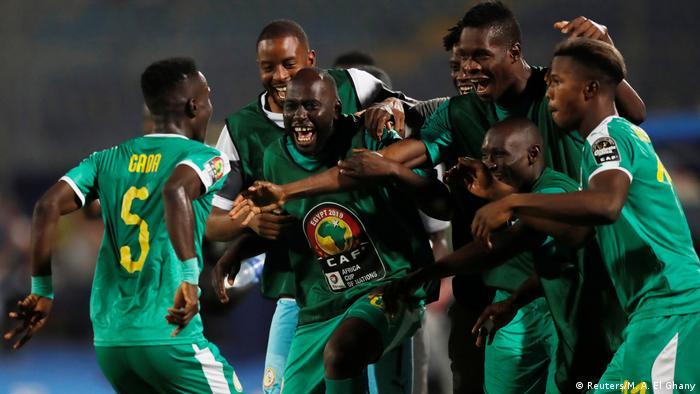 Africa Cup of Nations 2019 - Viertelfinale - Senegal gegen Benin | Jubel
