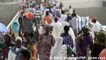 Grenze Tschad - Kamerun 2015   N'Gueli-Brücke