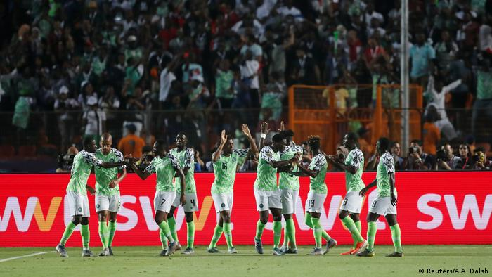 Afrika-Cup 2019 | Nigeria vs. Südafrika | TOR Nigeria