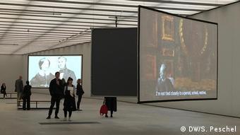 James Simon Gallery large video screens